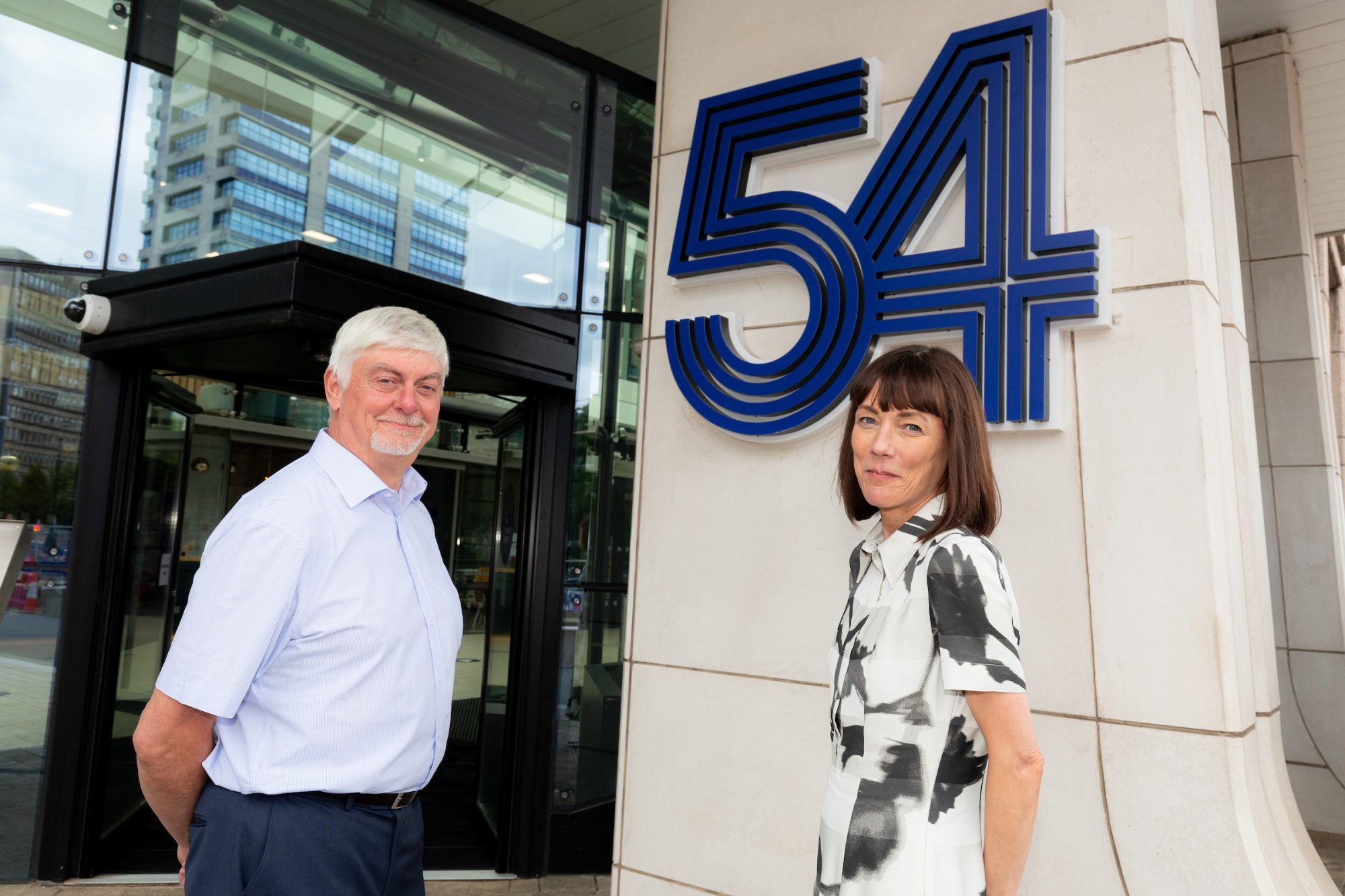 Outgoing-BHSF-group-chief-executive-Ian-Galer-and-incoming-BHSF-group-chief-executive-Heidi-Stewart-at-54-Hagley-Road